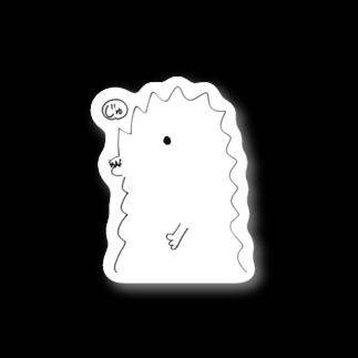 宮澤寿梨のじゅ印良品の半じゅじらステッカー Stickers