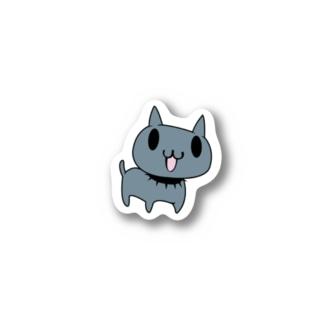 ジュウベエ(vkdbのネコ) ステッカー