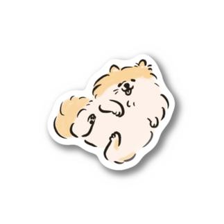 ポメラニアン 【せいこせんせい】 Stickers