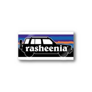 部屋とデニムとわたしの【格安】rasheeniaステッカー Sticker
