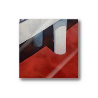赤いアスファルト Stickers