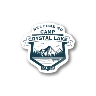CAMP CRYSTAL LAKE Stickers
