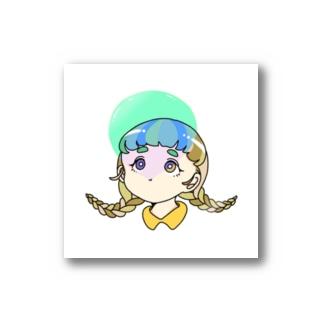 ふ〜せんがむ子 Stickers