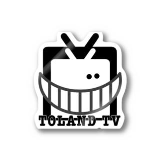 TOLAND TV 公式グッズ Stickers