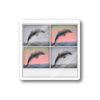 イルカの思い出 Sticker