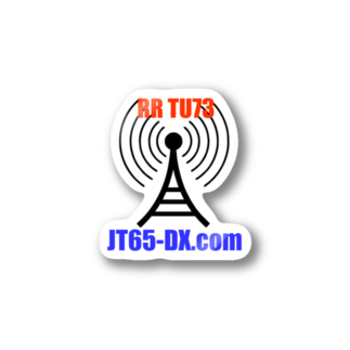 Japan JT65 Users GroupのJT65-DX.com 公式グッズステッカー