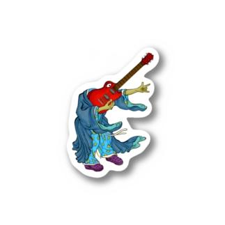 ギター牧牧 Stickers