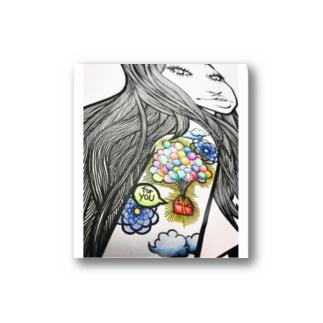 tattoo入れました女子。 Stickers