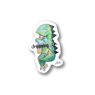 Dreaming Stickers