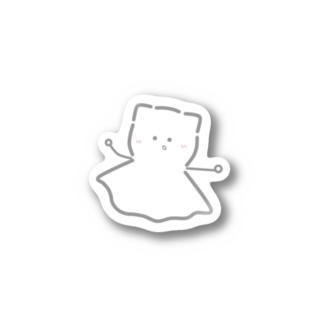 ねこてるステッカー Sticker