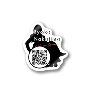 Logo w/ QR code Stickers