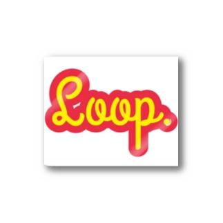 Loop.  Stickers