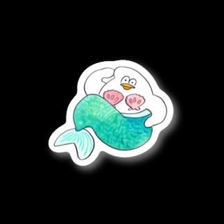 mugny shopの人魚 Stickers