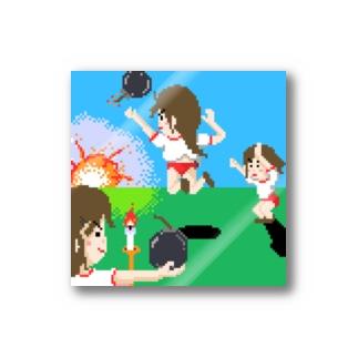 砲戦シスターズ Stickers