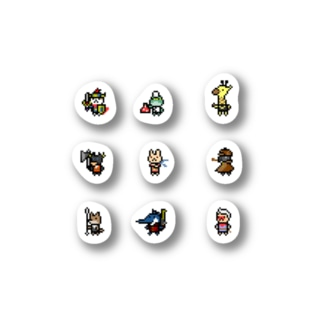 ネコブレ3x3 vol.1 Stickers