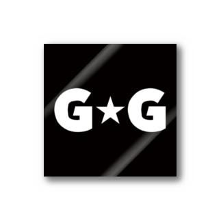 ゴージャス動画オフィシャルのG☆G ブランドロゴ Sticker