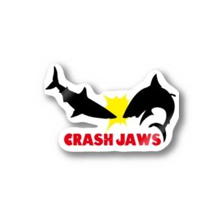 CRASH JAWS Stickers
