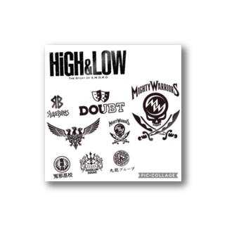 HIGH&LOW Stickers