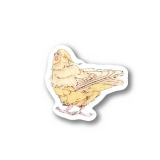 もふちり Stickers