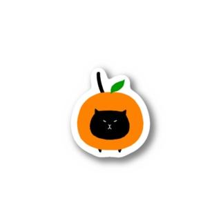 みかんねこ Stickers