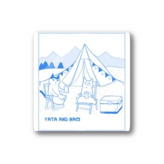 ヤタ&ナギ(キャンプ) Stickers