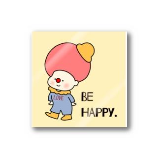 BE HAPPY. Stickers