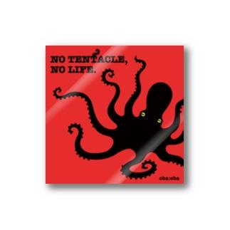 NO TENTACLE, NO LIFE Sticker
