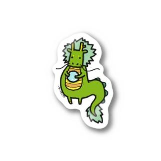 しばし柴犬屋の龍 Sticker