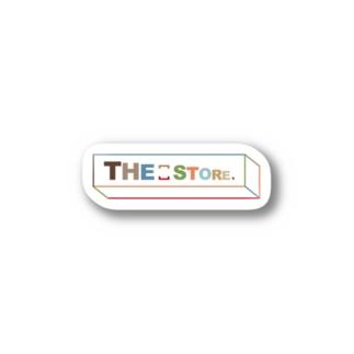 TSS-004 Multi box logo Stickers
