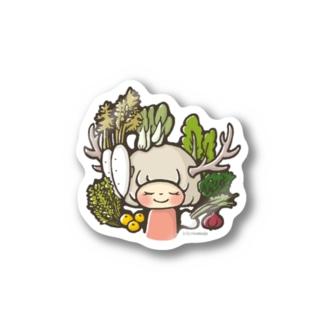 お野菜ガール Sticker