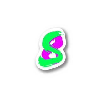 saku8 T Stickers
