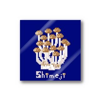 shimeji 〜青背景ver〜 Sticker
