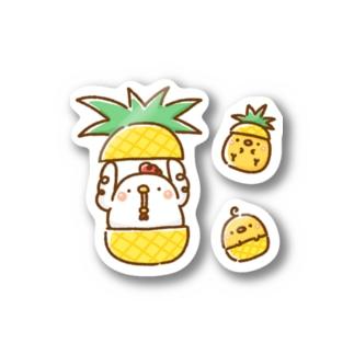 こっこさんとぴ。(パイナップル) Sticker
