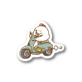こっこさんとぴ。(バイク) Stickers