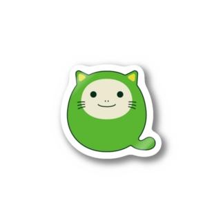 Qiitan イラストステッカー Sticker
