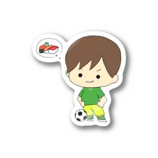 サッカー少年 Stickers