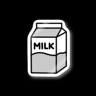 nikoの牛乳 Stickers