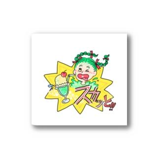 スカッとメロンクリームソーダ Stickers