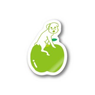 Green Apple ステッカー
