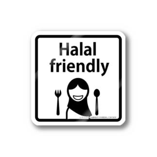 pi-e-halalfrendry ステッカー