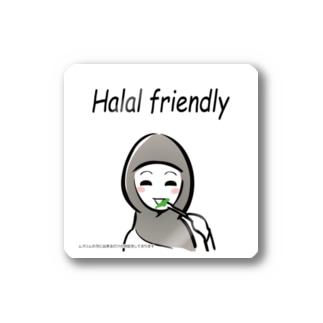 f-e-halalfrendry ステッカー