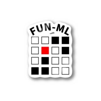 FUN-MLロゴ Stickers