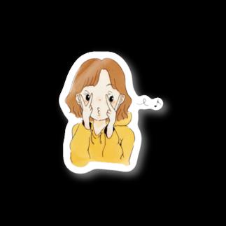 かわの まさみのルンルン ちゃん Stickers