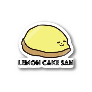 レモンケーキさん Stickers