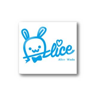 和田ありす公式 Stickers