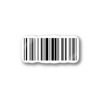 バーコード Stickers