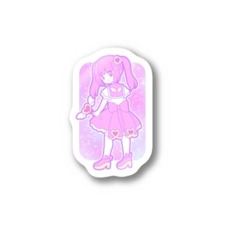 ゆめかわ魔法少女ちゃん Sticker