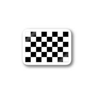 フラック柄 Stickers