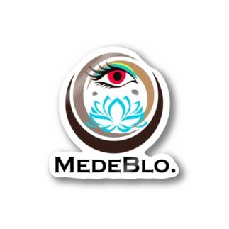 フリーメイソンパクリロゴ(めでブロVer.) Stickers