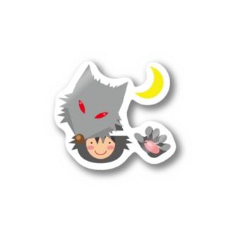人狼(キュートテイスト) Sticker